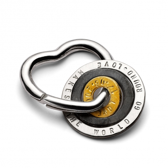 hug heart key