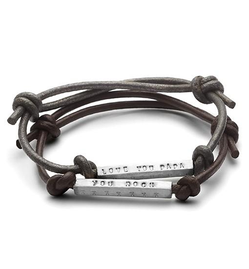 ID bead friendship bracelet
