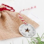 Red string Personalised Christmas Decoration