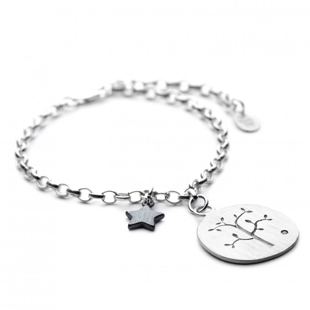 7cf5acdc80401 Personalised Family Tree Charm Bracelet - Chambers & Beau   Chambers ...