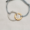 entwined close up friendship bracelet
