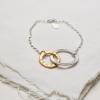 entwined hugs bracelet