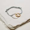 entwined hugs friednship bracelet