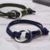 Mens infinity halo bracelet