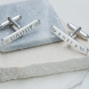skinny bar cufflinks 2