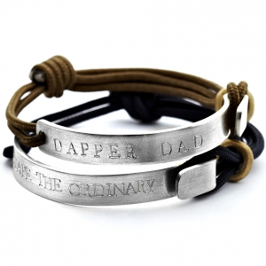 Personalised bracelet for men