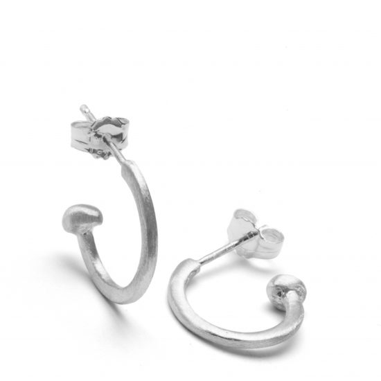 small silver hoops 2