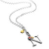 belcher charm necklace