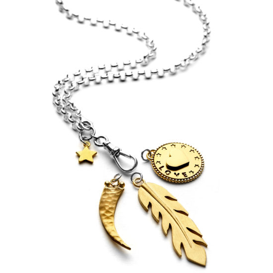 belcher charm necklace c