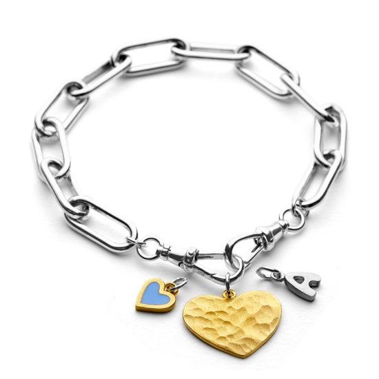paperclip bracelet b